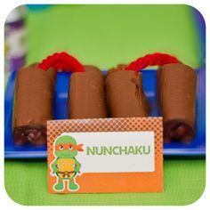 Teenage Mutant Ninja Turtle Food Labels  TMNT by KraftsbyKaleigh