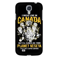 Super Saiyan I May Live In Canada Android Phone Case - TL00110AD