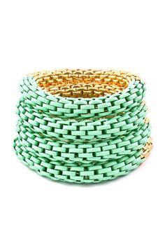 Mint Henley Bracelet