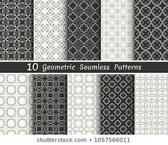 Similar Images, Stock Photos & Vectors of Triangle geometric vector pattern,pattern fills, web page, background, surface and textures - 708272218 | Shutterstock Geometric Tattoo Pattern, Geometric Patterns, Banners, Line Background, Black And White Lines, Vector Pattern, Ten, Wallpaper, Fabric Design