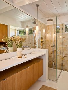 carmel mid century leed midcentury bathroom san francisco by studio schicketanz