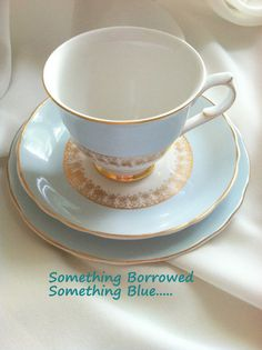 Antique Foley Bone China Tea Cup Saucer and by MariasFarmhouse, $55.00