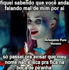 Resultado de imagem para frases arlequina Joker And Harley Quinn, Memes, Im Happy, New Years Eve Party, Humor, Sentences, Improve Yourself, Haha, Feelings