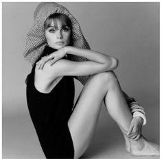Jean Shrimpton, photo by David Bailey, 1960s