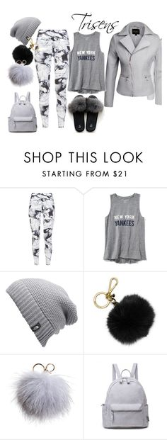 """""""Gemütliches Grau"""" by trisens on Polyvore featuring Mode, Varley, Old Navy, The North Face, MICHAEL Michael Kors und Dena"""