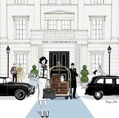 The Lanesborough//Megan Hess