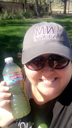 Jeez this was one tough workout!! 5 mikes at the trails and I thought I wasn't going to make it! Thank goodness for my Green Juice!!