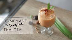 Membuat Thai Tea Ice Campur Kurma Ala HIJUP