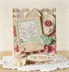 Vintage Garden - Seed Packet