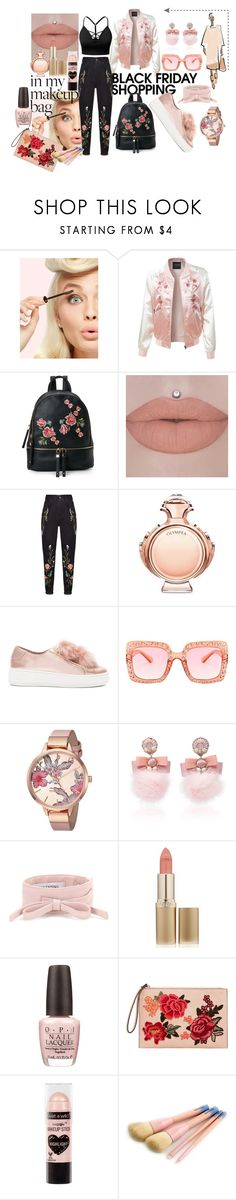 """""""black friday outfit"""" by douaa-beizig ❤ liked on Polyvore featuring LE3NO, Urban Expressions, Dalood, Paco Rabanne, J.TOMSON, Steve Madden, Nine West, Ranjana Khan, Valentino and L'Oréal Paris"""