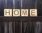 HOME Scrabble Letters $18 for the set plus shipping!