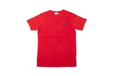 #WOOD #WOOD - SLATER #T-SHIRT - HIGH RISK RED