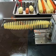 Twist Potato, Spiral Cutter, Cutter Machine, How To Become Rich, Potatoes, Lunch, Canning, How To Be Rich, Potato
