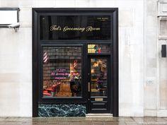 FormRoom for Ted Baker   Lancaster Place Grooming Room Interior   #TedBaker #RetailInteriors #StoreDesign #VM #Bespoke #Fitout #GroomingRoom #BarbersShop #Interior #DisplayDesign #Design #Interiors #Grooming