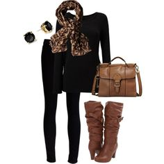 """What I'm Wearing Today"" by karrina-renee-krueger on Polyvore"