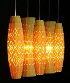 bamboo crafts | Home » Bamboo Arts and Crafts » Bamboo Lamps, Lighting ...