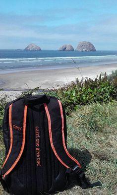 Carri Original on the Oregon Coast....