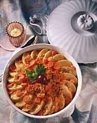 type a blood diet for carrots-apples casserole