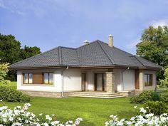 Projekat moderne prizemne kuće s garažom – Ambir Gazebo, Home And Garden, Exterior, Outdoor Structures, Dream Houses, Slate, Ideas, Houses, Facades