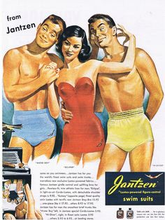 1940 Jantzen swim suits