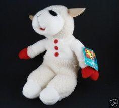LAMB-CHOPS-Plush-Lamb-People-Pals-14-Toy-Stuffed-Animal