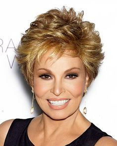 Center Stage by Raquel Welch is a carefree, short boy cut with softly curled all-over layers that blend into an extended nape. The 100% hand-knotted base results in a low density, natural looking hair growth allowing for off the face styling options. Free Shipping in the US. Our Price: $344.25.