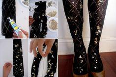 """Blog de moda: """"Blog Cultura de Moda"""": DIY Fashion: meia-calça"""
