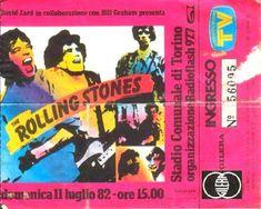 Rolling Stones Italia - Live in Italy - Torino, Comunale - 11 e 12 Luglio 1982 Living In Italy, Italy Vacation, Rolling Stones, All About Time, Torino, Live, Italia, The Rolling Stones