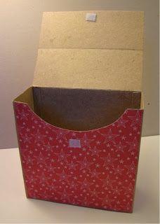 Scraps: Kort box tutorial