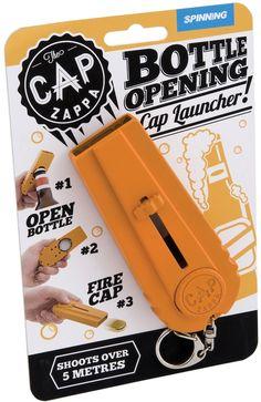 Bottle Cap Opener & Launcher