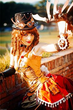 So many amazing things about this steampunk outfit.