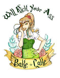 Sailor Jupiter / Will Kick Your Ass & Bake Cake by Christis Imagination Sailor Jupiter, Sailor Venus, Sailor Mars, Sailor Moon Girls, Sailor Moon Art, Sailor Mercury, Sailor Scouts, Nerdy, Anime