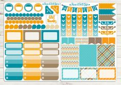 November Planner Stickers Erin Condren Planner by aHeartFeltLife