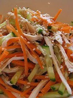 Chicken, Sesame Salad Recipe