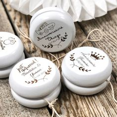 Yoyo Wood Custom Engraved Wedding Guest Gift, Baptism, Communion - New sites Wedding Gifts For Guests, Wedding Favors, Wedding Invitations, Wedding Decorations, Wedding Souvenir, Guest Gifts, Camping Gifts, Engraved Gifts, French Wedding