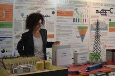 """Gli exhibit/giochi scientifici della discarica e dell'impianto fotovoltaico del Percorso didattico  """"La Scienza Ambientale a Scuola"""""""
