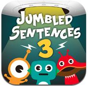 Jumbled Sentences – A Series of Free Writing Apps for iPads Jumbled Sentences is a series of five free iPad apps designed to help students learn to construct sentences. The apps provide students with drag and drop activities in which they sort jumbled words into sentences. The sound can be turned off and on in each app.
