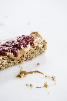 Thick and Chewy Maple Vanilla Oatmeal Bars | edibleperspective.com