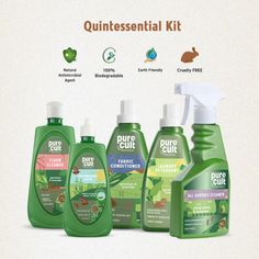 A blend of earth-friendly ingredients and essential oils, this kit is a must-have for all...