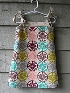 Popover Dress (free pattern from Oliver S)