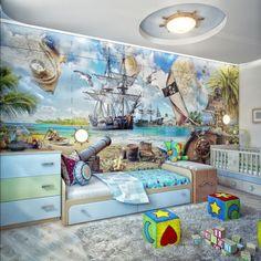 Дизайн проект детской комнаты для мальчика