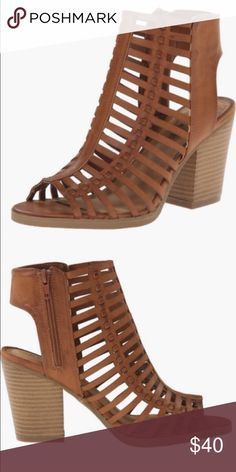 """New rampage sandals New with tags sandals perfect for this summer☀️ heel is 3.5"""" tall and in original box ! Rampage Shoes Sandals"""