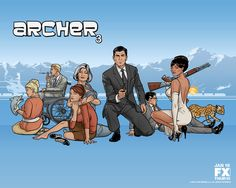 I have a not so secret love affair with Archer