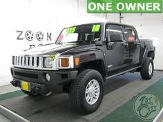 2010 Hummer H3T for sale at First City Cars and Trucks in Rochester, NH.