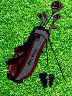 PreciseGolf Co. Precise X7 Junior Complete Golf Club Set for Children #golf #golfaccessories #golfbag #golfclubset #precisegolf Best Golf Club Sets, Best Golf Clubs, Left Handed, Boy Or Girl, Age, Children, Boys, Sports, Young Children