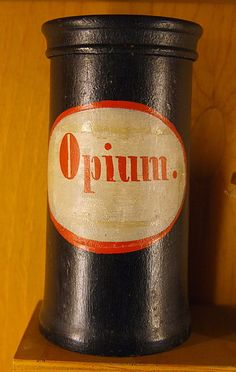 Apothecary vessel Opium 18-19 century. This Day in History: Oct 18, 1860: The Second Opium War finally ends