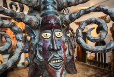 African Art - Ekoi - Nigeria - Art Gallery of Pilzen (Czech Republic) www.visioart.cz