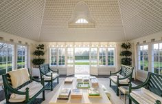 The East Hampton home where Jackie Bouvier Kennedy spent her childhood summers can now be yours. The estate on Further Lane known as Lasata which is a Native American word for Place of Peace w Jackie Kennedy, Jackie O's, Hamptons House, The Hamptons, Porches, East Hampton, Tom Cruise, Luxury Apartments, Courtyards