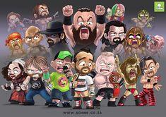 Wrestling Stars, Wrestling Wwe, Chris Benoit, The Hardy Boyz, Eddie Guerrero, Kevin Owens, Becky Lynch, Professional Wrestling, Wwe Wrestlers