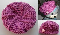 Beret Crochet for Amigurumi ~ Free Russian Pattern